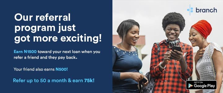 How you can earn up to N75,000 monthly from Branch
