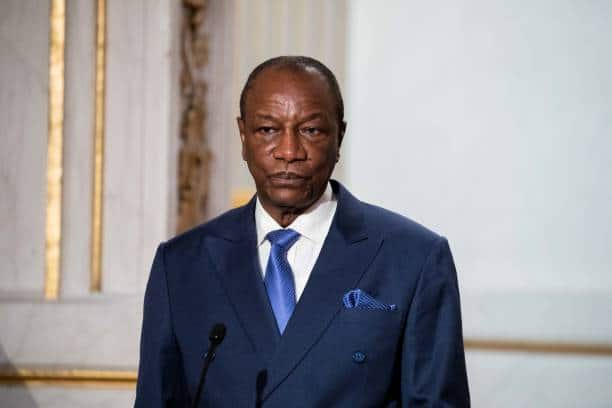 Military coup hits Guinea's capital Conakry.