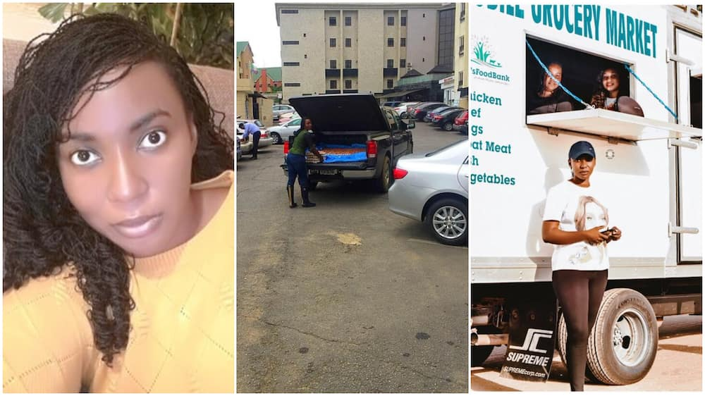 Nigerian Igbo lady who started selling eggs from car boot makes it, buys truck, expands business