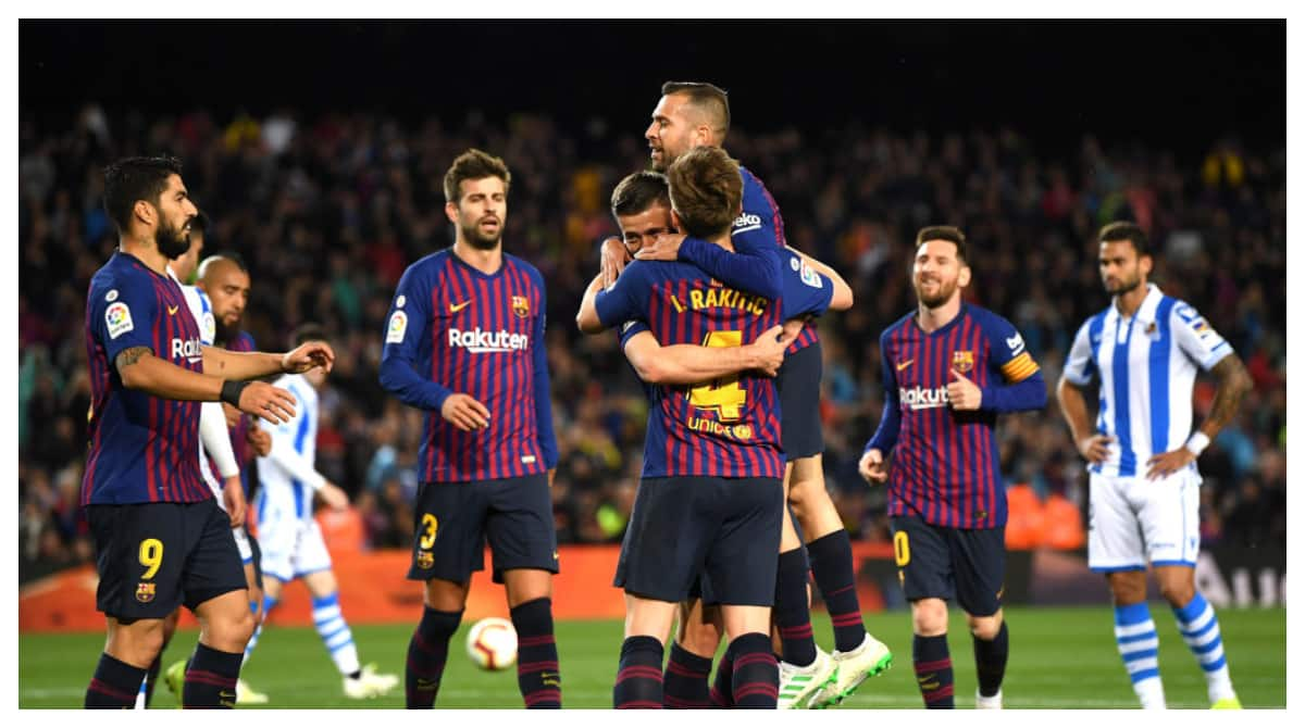 Lenglet, Alba score as Barcelona record 2-1 win over Real Sociedad