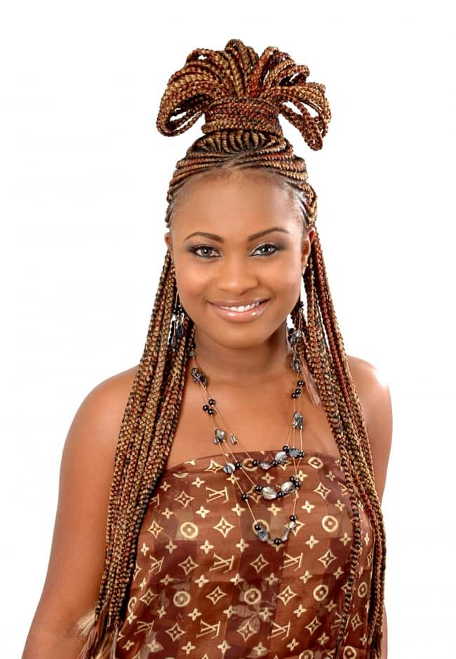 Best cornrow hairstyles for round faces Legit.ng