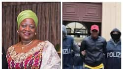 Just in: Buhari's aide reacts as police arrest Nigerian mafia gang members in Italy