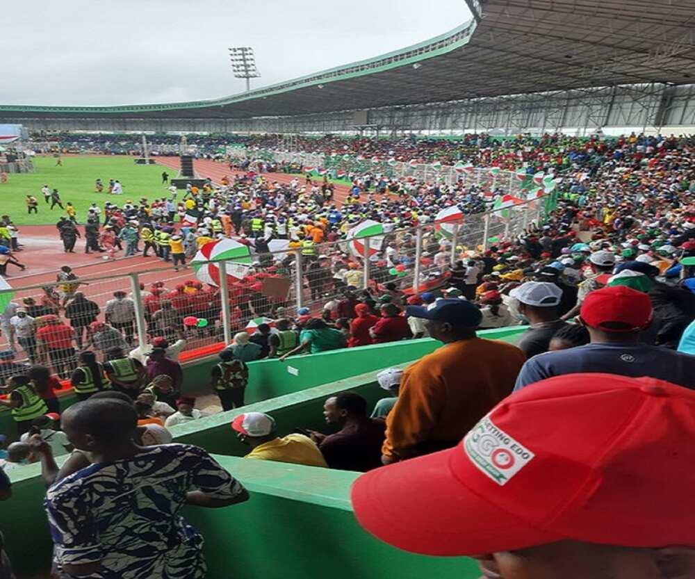 Zaben Edo 2020: Jerin manyan jiga jigan PDP da suka hallara a Benin
