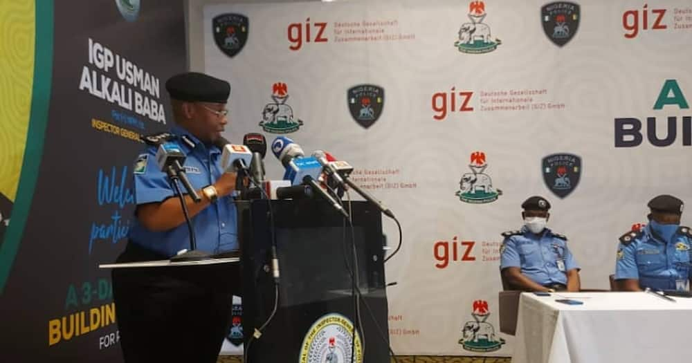 Inspector General of Police (IGP) Usman A Baba