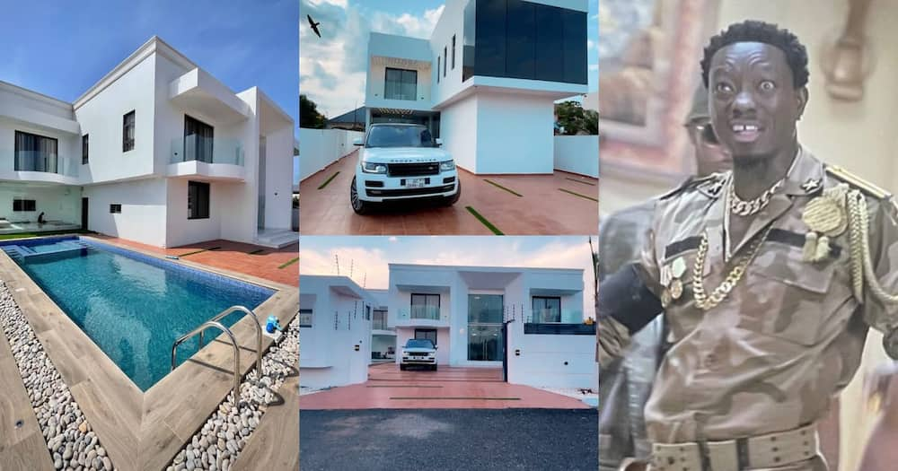 Michael Blackson's mansion in Accra