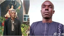 Dancing, rejoicing as police arrests Church of Satan founder in Abia state (photos)