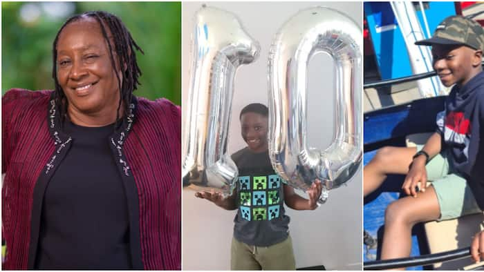 Patience Ozokwo gushes over handsome grandson as he clocks big 10, shares cute photos