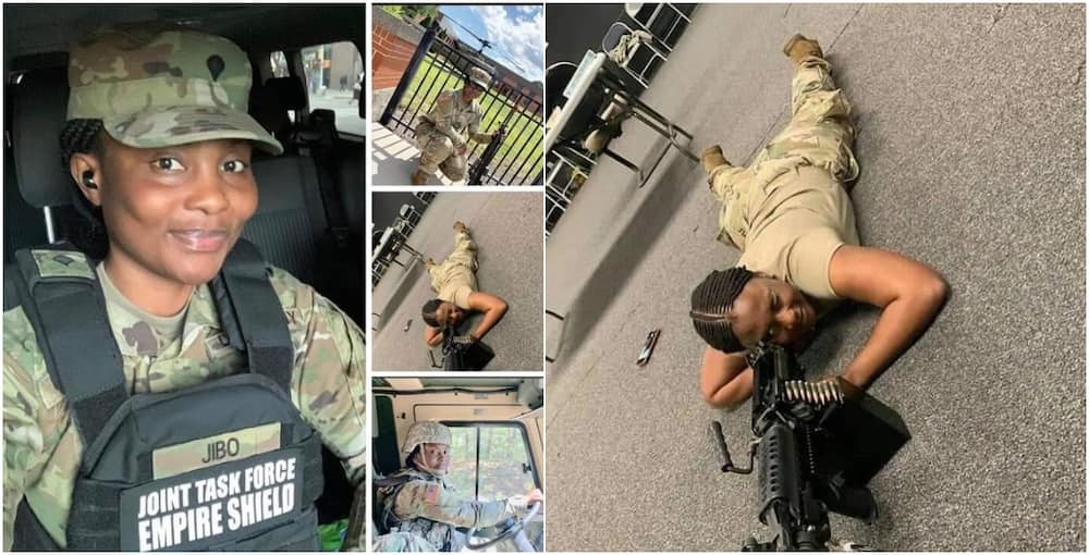 Nigerians want lady from Kano in US Army to come home and defend fatherland