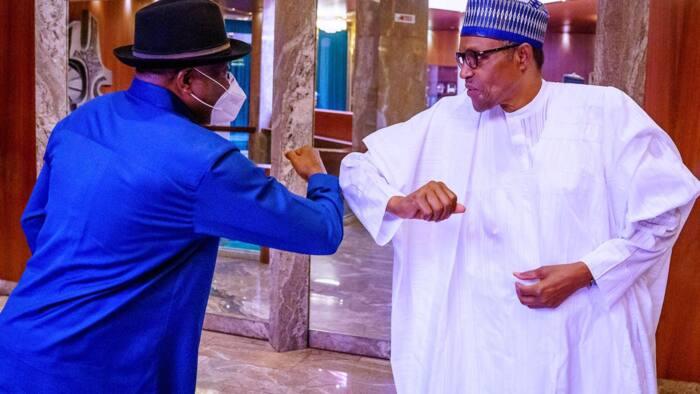 Da dumi-dumi: Shugaba Buhari ya yi ganawar sirri da Goodluck Jonathan
