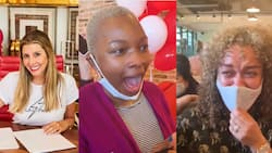 Female boss gives all her workers N4.1m and 2 first-class plane tickets to anywhere in the world in cute video