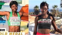 Nigerian-Irish sprinter Rhasidat Adeleke storms to gold in 100m final at European Youth Olympics