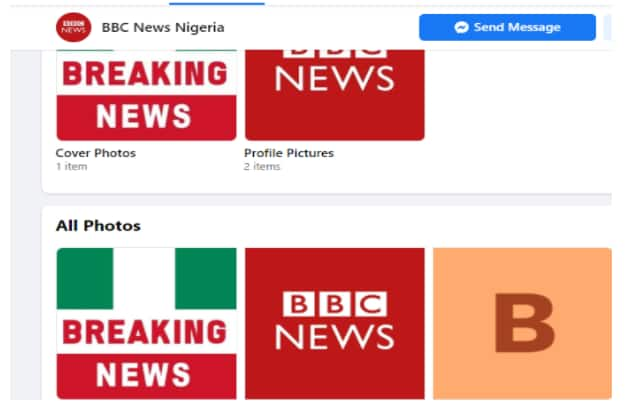 """Sponsored """"BBC News Nigeria"""" page asking people to invest for higher returns is fraudulent, fake (Fact Check)"""