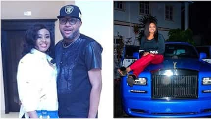 E-Money surprises his wife with a luxury car worth about N217.8 million
