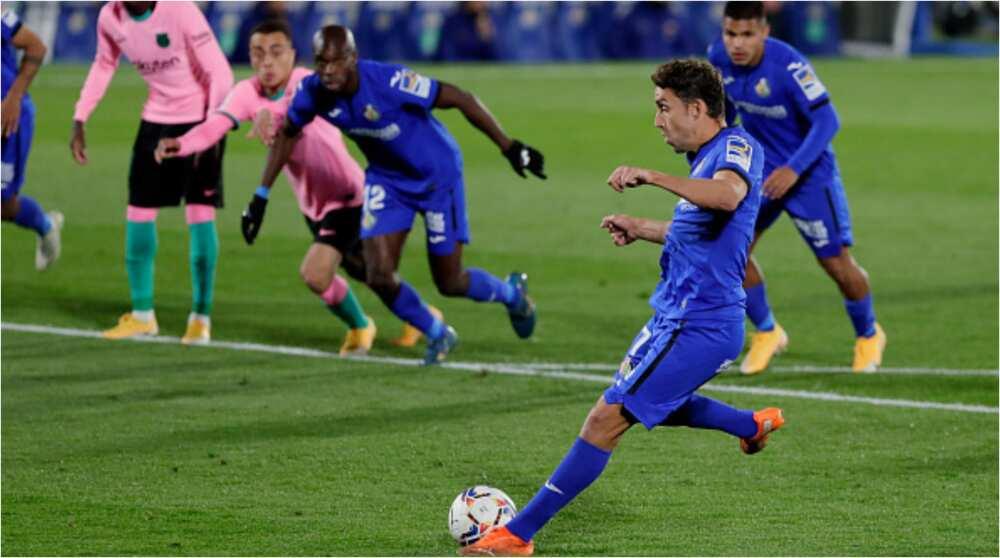 Getafe vs Barcelona: Messi fails to impress as Catalan giants lose 1-0