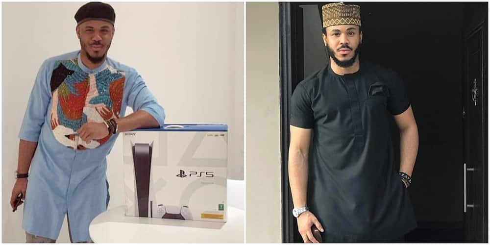 BBNaija's Ozo joins list of Ps5 owners courtesy of his fans.
