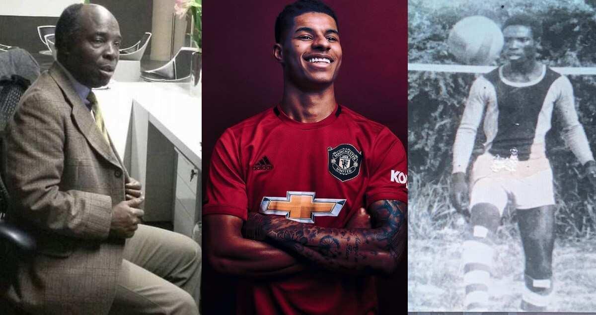 Marcus Rashford Ex Ghanaian Footballer Marquaye Says He S Man Utd Dad