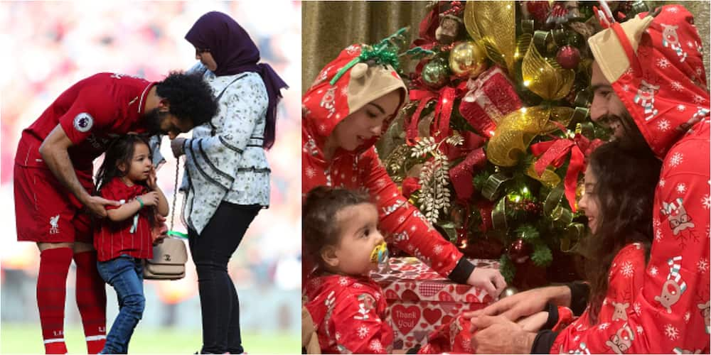 Mohamed Salah joins Christians in celebrating Christmas with beautiful family photos