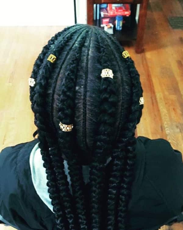 cornrow braids styles