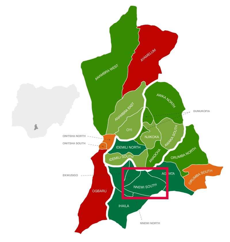 Nnewi South location