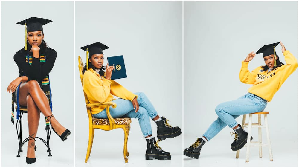 Young lady finishes school with 3.7 CGPA in US, shares amazing photos