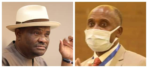 How could I've been your Employee when I Made you Governor, Wike Replies Amaechi