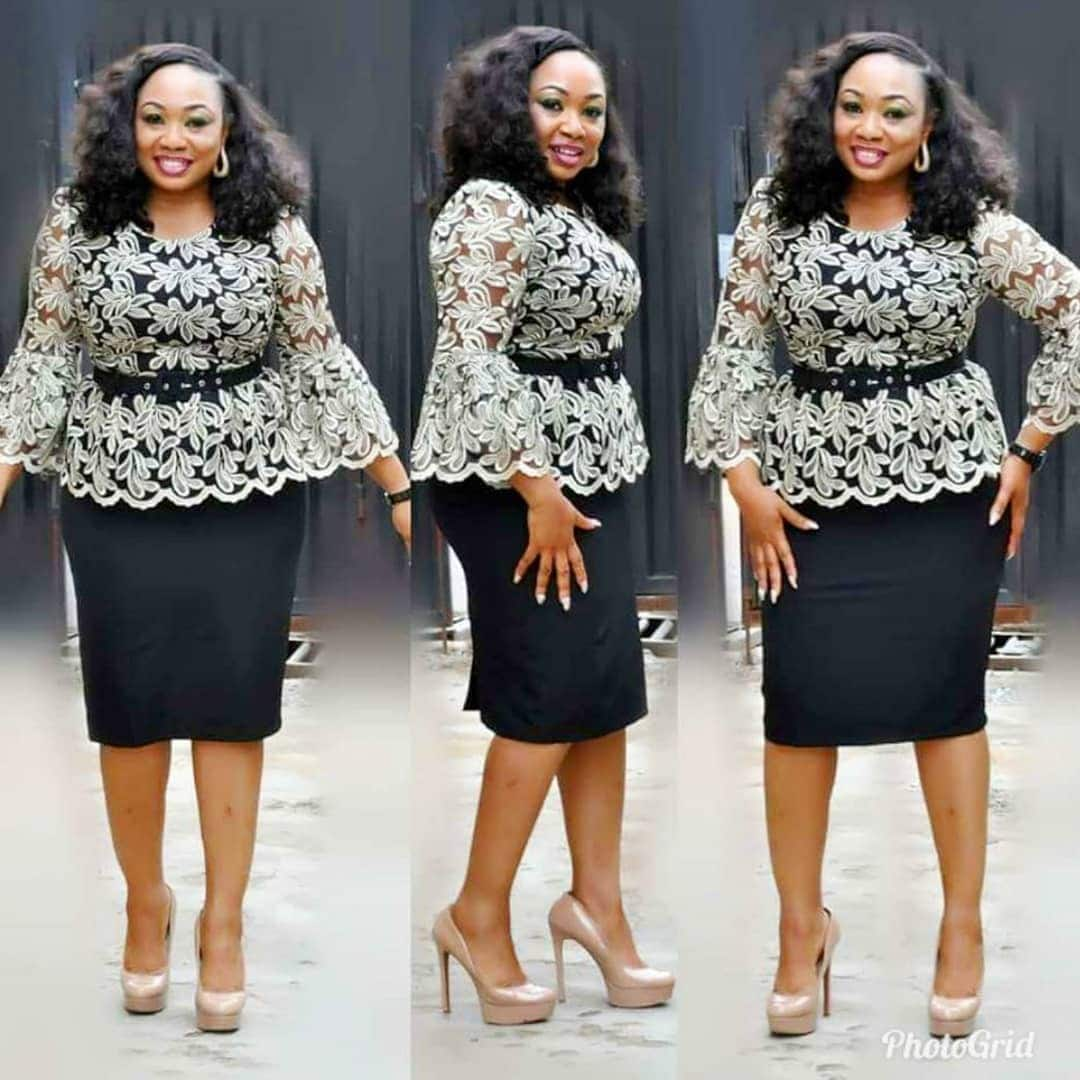 f8f4951b5ae478 Latest skirt and blouse styles for lace ▷ Legit.ng
