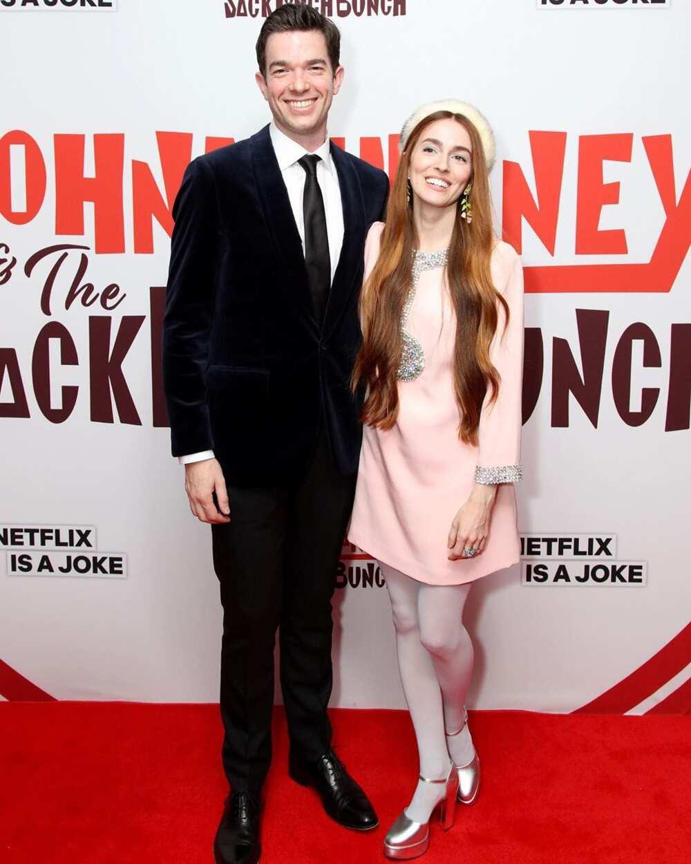 John Mulaney and Annamarie Tendler