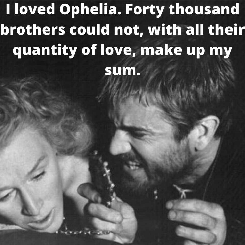 ophelia quotes
