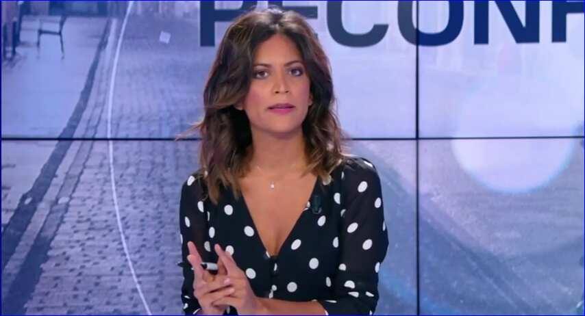 Aurélie casse sur un plateau tv