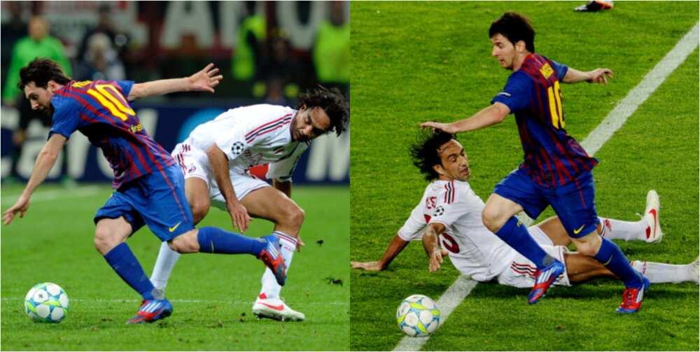 Veteran Italian defender reveals what Messi did to him that affected his career
