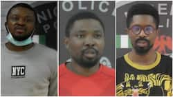 Three suspects arrested after intelligence report from INTERPOL as police launch cybercrime reporting portal (photos)