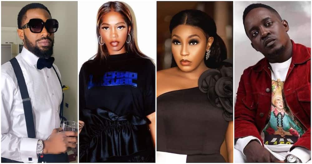 Tiwa Savage, Rita Dominic, other celebs finally react to abuse allegations against Dbanj