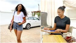 Actress Yvonne Nelson shares photo as she celebrates bagging Master's degree on her birthday (video)