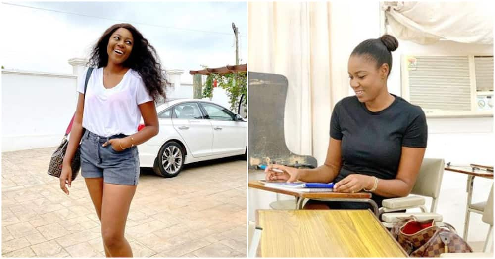 Double celebration: Actress Yvonne Nelson bags Master's degree as she marks birthday