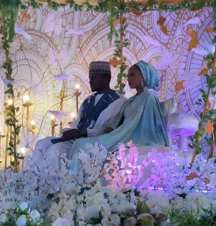 Hotuna da bidiyoyin liyafar cin abinci dare na auren Yusuf da Zahra, Ali Jita da Breaker sun bajekoli