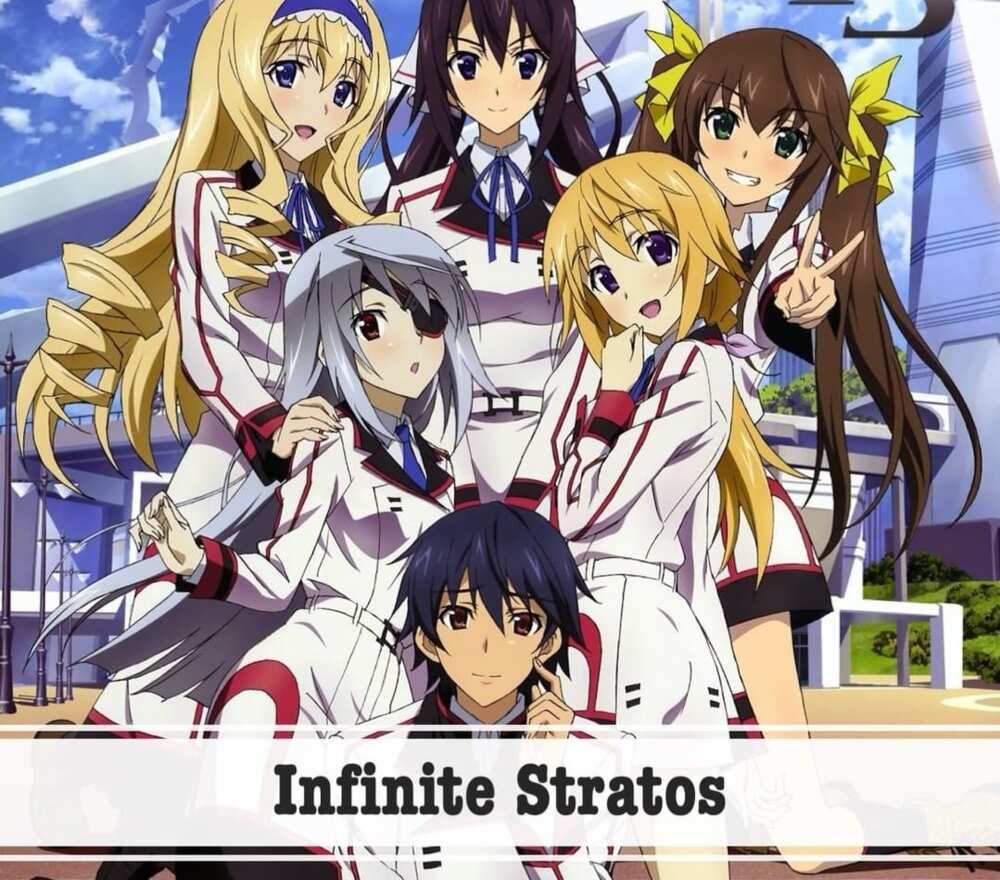 top 10 harem anime