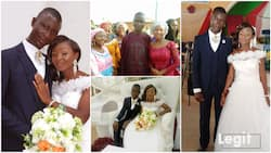 She didn't want to give me her number: Young Nigerian man reveals how he finally married lady he met in 2016