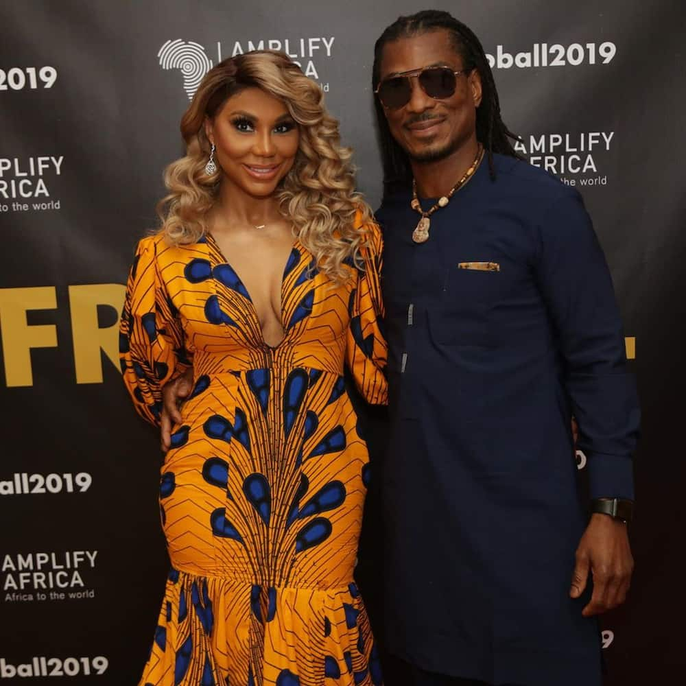 Tamar Braxton's Nigerian boyfriend David Adefeso reportedly files 'domestic violence restraining order' against singer