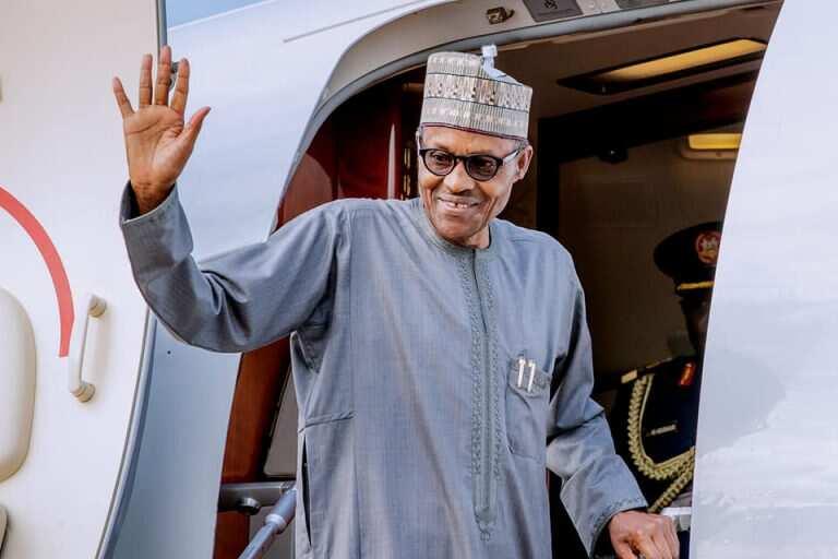 Yanzu-yanzu: Shugaba Buhari zai tafi Landan duba lafiyarsa gobe