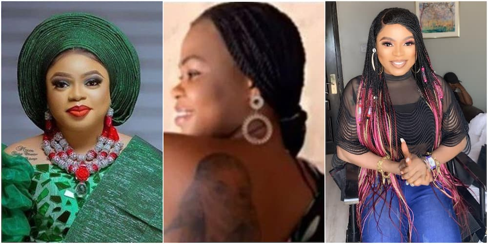 Lady Who Tattooed Bobrisky on Her Body Begs Nigerians for Help as She's Now Homeless