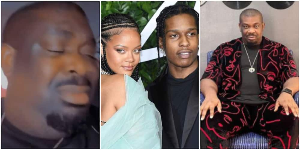 Get out : Don Jazzy reacts as rapper Asap Rocky confirms Rihanna as love of his life