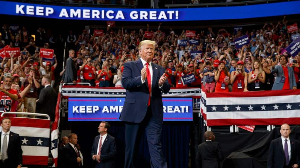 We are on the road to victory - Trump says as he hints at going Supreme Court