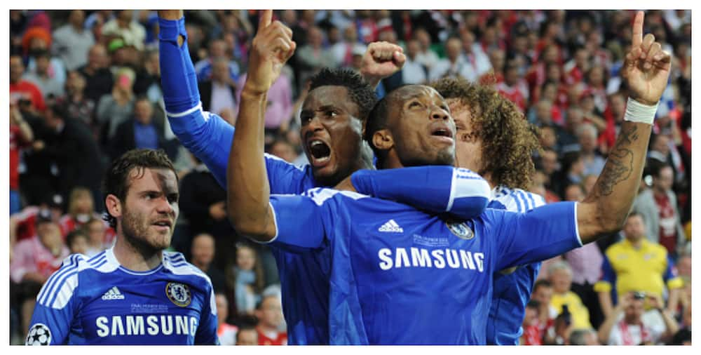 Drogba Describes Mikel As Chelsea's Playmaker In Club's 2012 UCL Triumph Against Bayern