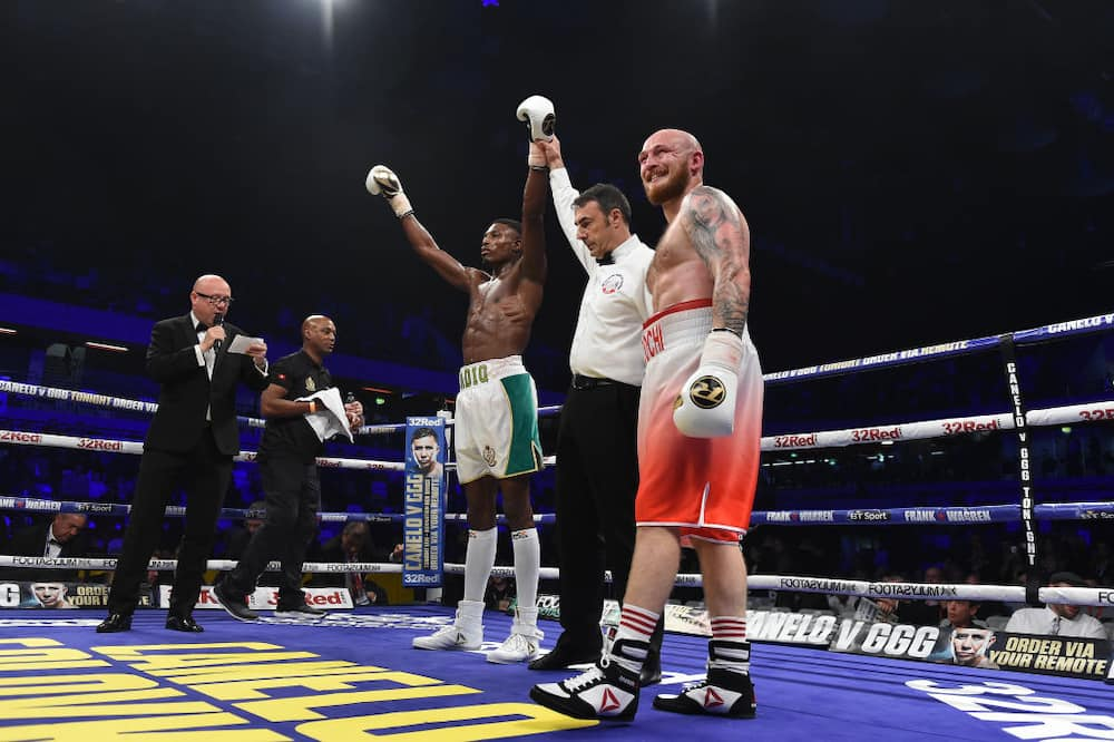 Umar Sadiq: Nigerian boxer rushed to hospital after defeat to Fyodor Chudinov in Russia
