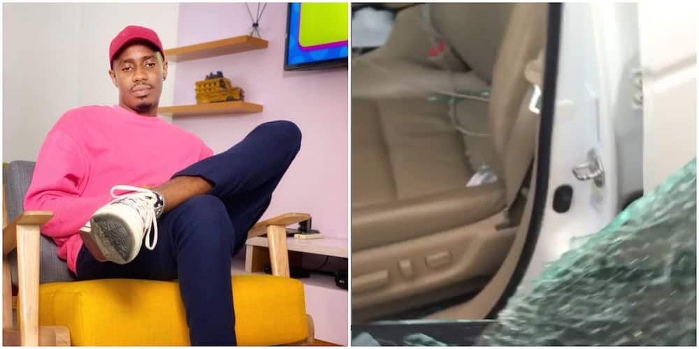Reality Star Louis Ejiofor Attacked by Robbers in Oshodi, Sustains Injury