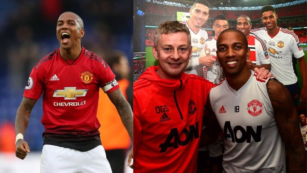 Man United star Ashley Young commits future to the club until 2020