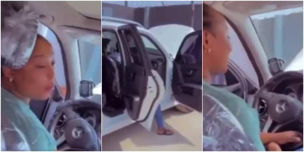 Fire razes lady's N9m Mercedes-Benz