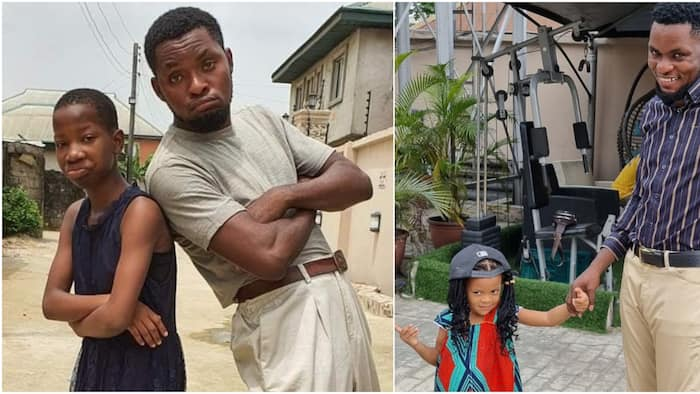 You've always been there for me: Comedian Emmanuella celebrates MarkAngel, his child as they mark birthday