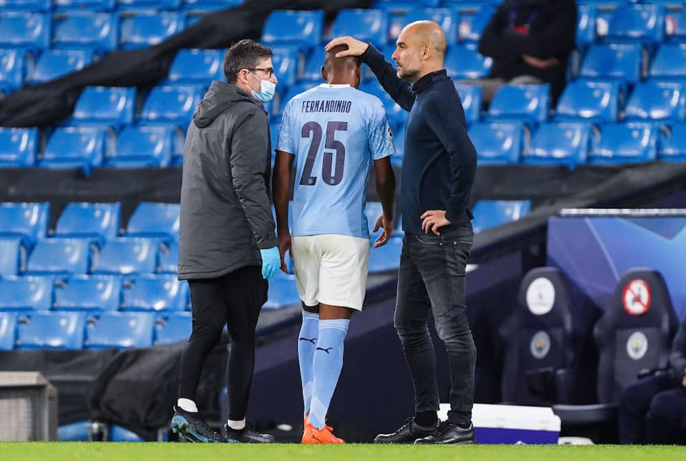 Fernandinho, Nathan Ake join Man City's growing injury list after Porto victory