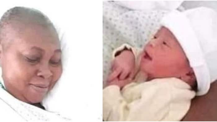 Jubilation as Nigerian woman finally gives birth after 18 years of waiting, many react